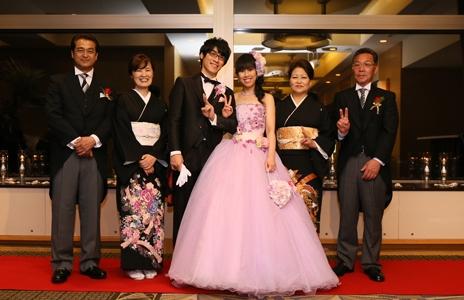 みんなに祝福され、最高の結婚式になりました