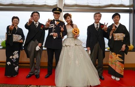 大満足の結婚式を無事終え、みなさまに感謝!