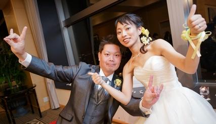 景色も笑顔も最高な結婚式
