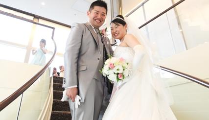 みんなから笑顔で祝福された 楽しい結婚式