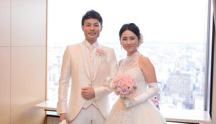 ゲストとスタッフに恵まれた結婚式