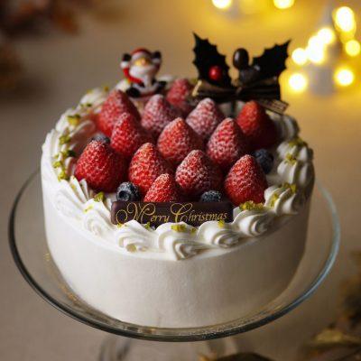 ご予約受付中クリスマスケーキのご案内